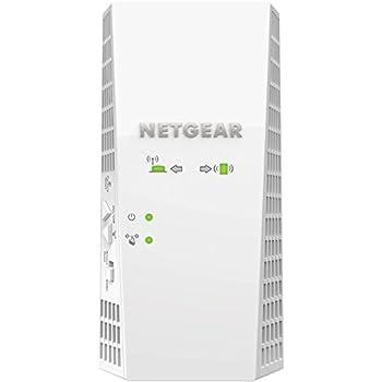 NETGEAR Nighthawk 11AC 2200 Mbps X4 Dual Band Wi-Fi wall plug Range Extender (Wi-Fi Booster) (EX7300-100UKS)