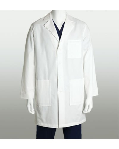 mcintyre brand White Lab Coat, Warehouse Coat, Doctor Technician Food Coat Test