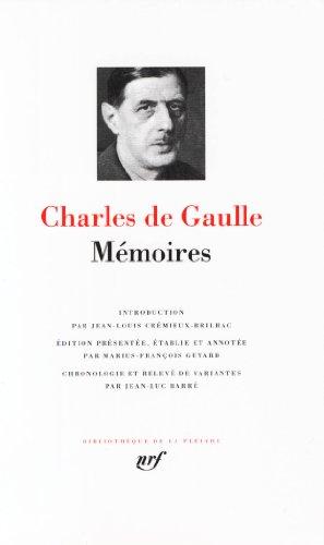Charles de Gaulle : Mémoires par Charles de Gaulle