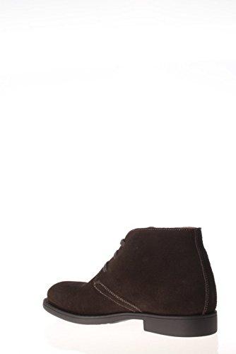 Nero Giardini Homme Polonais A503592U-101 Haut Suédine Chaussures Gris - anthracite