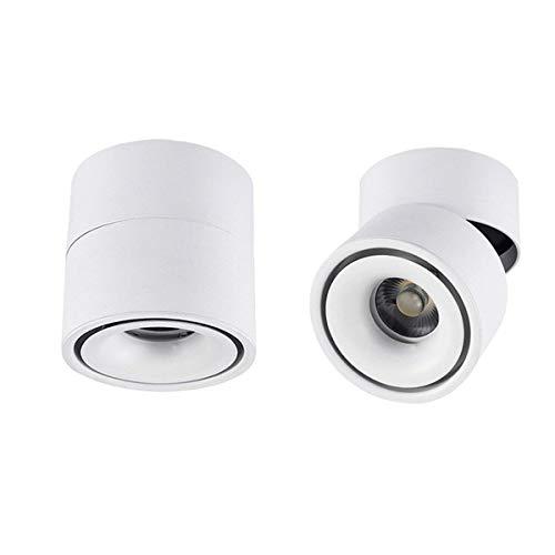 Projecteur Light Downlight Encastré Plafond Spots À Aluminium 10H10cm Dia Au ° Shell Led 12w Focos Hobaca® De 360 Réglable Mini kXOPZiuT