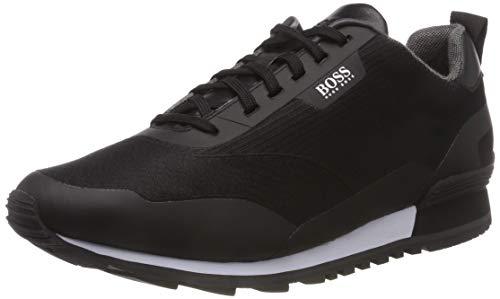 BOSS Athleisure Zephir_Runn_Jacq, Scarpe da Ginnastica Basse Uomo, Nero (Black 001), 43 EU