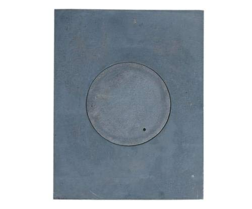 QLS GUSSPLATTE Platte Noten KÜCHE OFEN 1-Loch GUSSEISEN 36 X 46 cm CAST Iron GRAUGUSS 1 ST.