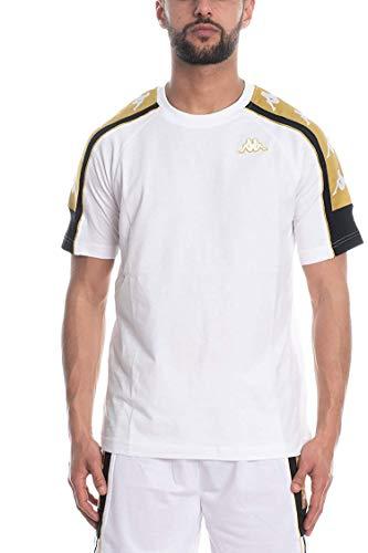 222 Banda 10 ARSET T-Shirt Uomo Bianca 304I050909 Bianco XXL