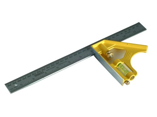 Stanley 2-46-028 herramienta de medición y diseño - Herramienta para medir (Acero inoxidable, Amarillo)