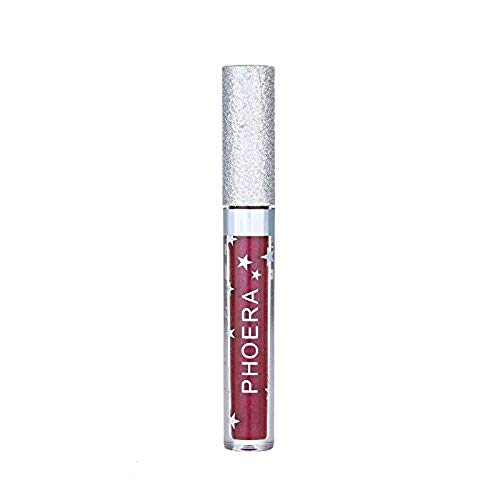 DEELIN Lippenstifte Liquid Matte Lipstick Dauerrhaft Lip Liner Make up, Rainbow Matte to Glitter Flüssiger Lippenstift Wasserdichtes Lipgloss Makeup