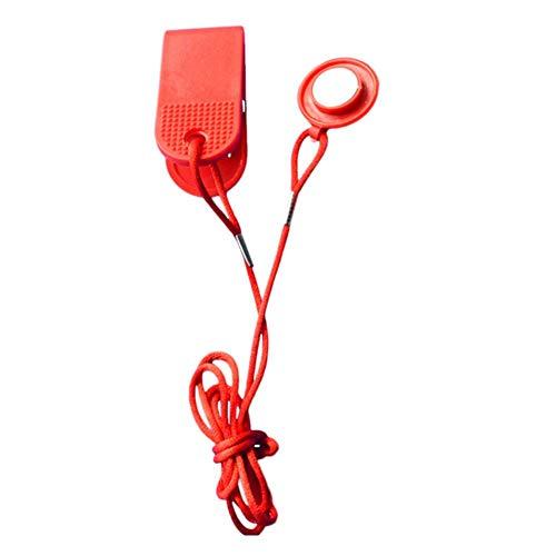 Lembeauty Universal-Sicherheitsschalter für Laufmaschine, Laufband, Sicherheitsschalter, magnetischer Sicherheitsschalter, elektrisches Laufband, Startschlüssel
