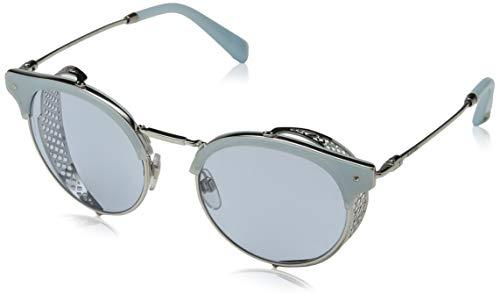 Valentino Damen 0VA2008Z 300672 51 Sonnenbrille, Silber (Silver/Azure),
