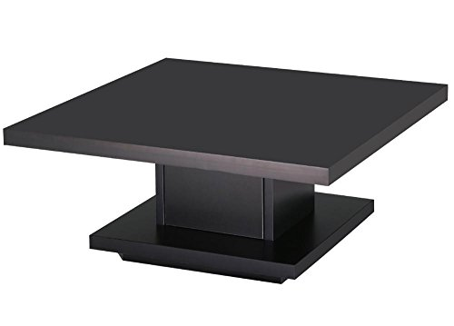 tinkertonk Modern Wood Square Coffee Table Center Post ...