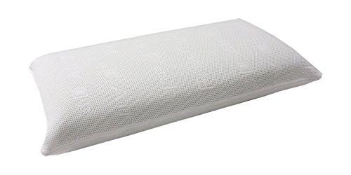 Dibapur ® Visco Memory Nackenstütz Kopfkissen mit 3D Air Fresh Bezug 40cm x 70cm x 14cm Orthopädisches Kissen Nackenkissen -