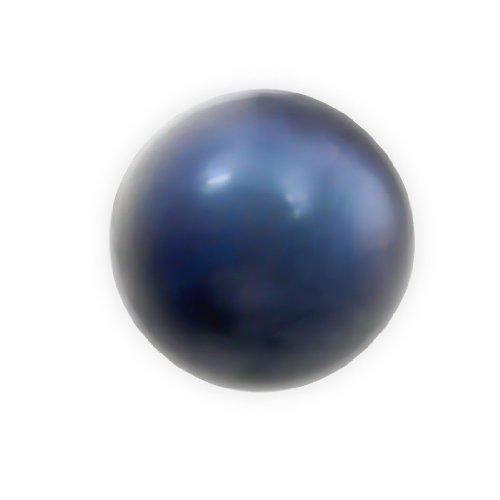 MsPiercing  -  Nicht zutreffend  3 mm, schwarze Akoya (rund), Klasse AA     Perle
