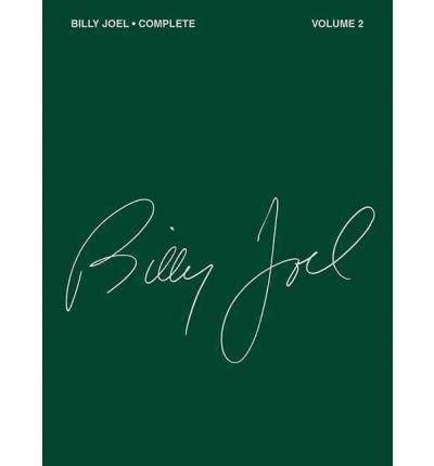 [(Billy Joel: Volume 2: Complete )] [Author: Billy Joel] [Dec-1992]