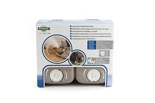 PetSafe - Distributeur de Nourriture et Croquettes Automatique pour Chats et Chien / 2 Repas