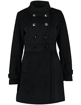 Anna Field Chaqueta de Mujer Elegante - Abrigo de Mujer en Negro o Beige - Abrigo de Entretiempo Corto con Cuello...
