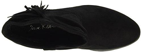 Jane Klain - Stiefelette, Stivali a metà polpaccio con imbottitura leggera Donna Nero (Schwarz (000 Black))