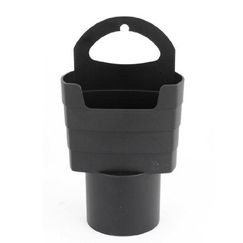 Preisvergleich Produktbild sourcingmap® Universal Auto Grtränkdose Pommes frites Kunststoff Ständer Halter schwarz