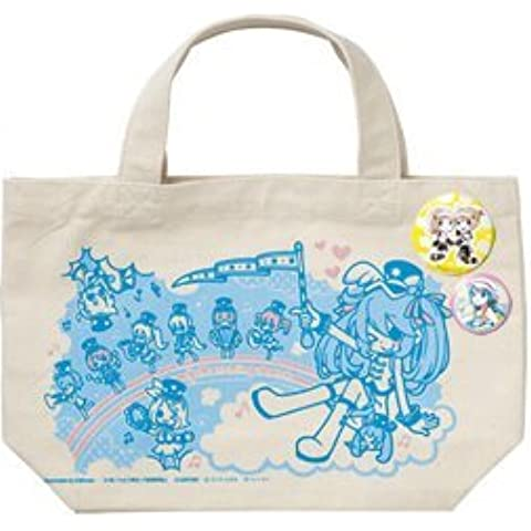 (With two cans batch) Happy lottery Hatsune Miku 2013 SUMMER VER G award tote bag set [TypeA] (japan import) by Sunny Side Up