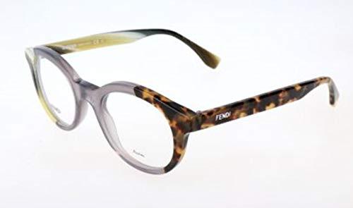 Fendi Damen FF 0067 NER/21-47-21-140 Brillengestelle, Mehrfarbig, 47