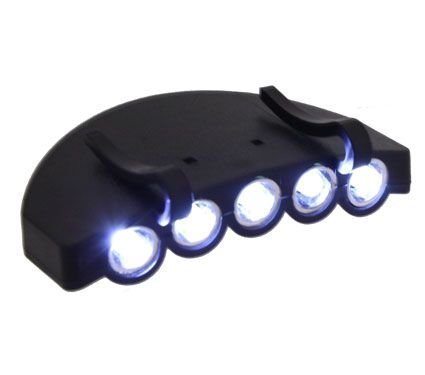 Blue Ridge Product Solutions 5 LED Light that Attaches to Hats and Caps by Blue Ridge Product Solutions
