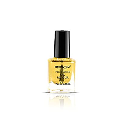 Simon & Tom – Nails & Cuticles Oil Saviour. 100% natural strengthening nail care – 9ML