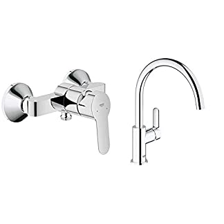 GROHE – BauEdge Monomando de ducha visto