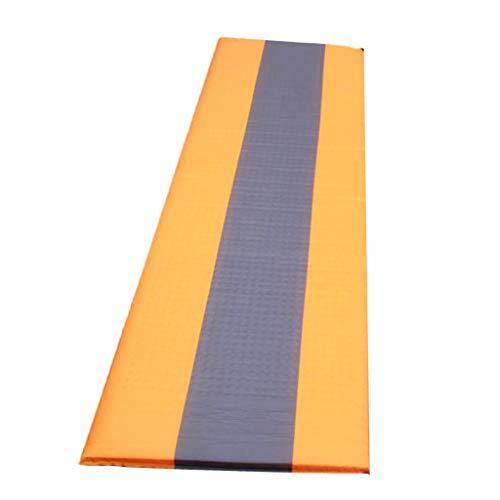 IPOTCH Outdoor Aufblasbare Schlafmatte Camping Isomatte - Ultraleicht Luftmatratze für Indoor & Outdoor - Orange