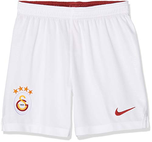 Nike Kinder Galatasaray SK Breathe Stadium Home/Away Shorts, White/Pepper Red, S