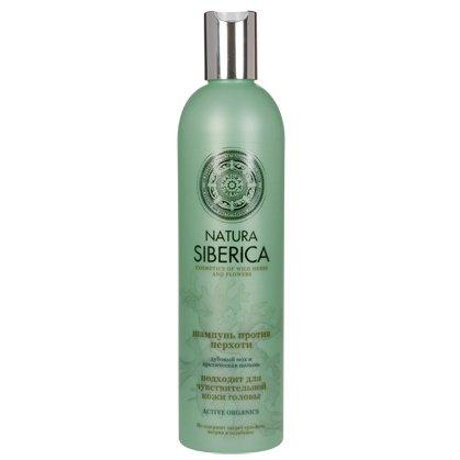 Natura siberica - Champú anticaspa para cuero cabelludo sensible