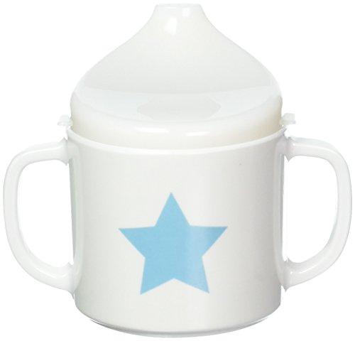Lässig Dish Cup Melamin Tasse Trinkbecher mit Henkel Schnabeltasse aus 100{13ed3c99dcedb4acb46b8e1ae7da23409c40236eb16221e8faf7142cba2ba932} Melamin BPA-frei und rutschfest, Starlight olive
