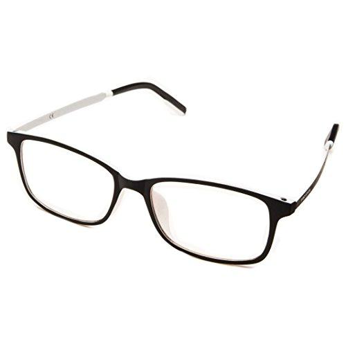 PROSPEK: ARCTIC Gafas unisex con lente transparente y bloqueo de luz azul. Alivio para vista cansada por el ordenador. Verás colores vivos y protegerás tus ojos con las únicas gafas con tecnología CLEARX