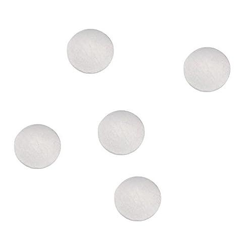 Merssavo 100 pieces Coussinets Amortisseurs Autocollants en Silicone Transparente Protection pour