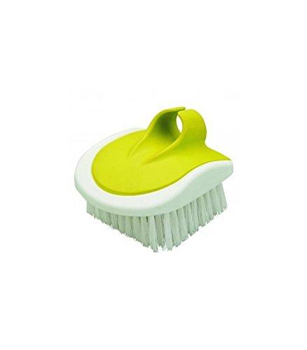 IBILI Vegetable Brush, White/Green, 6 x 8 cm