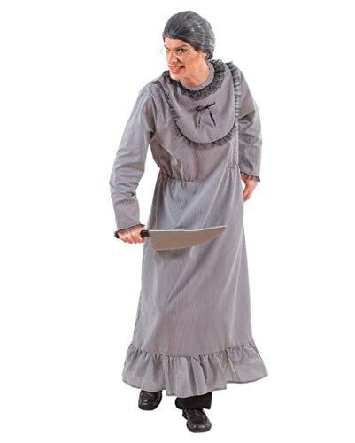 Horror-Shop Psycho Granny Bates Kostüm für Männer XL