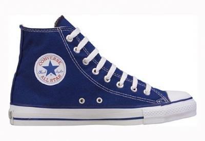 Converse Star Hi Canvas, Sneaker Unisex – Adulto Navy/White