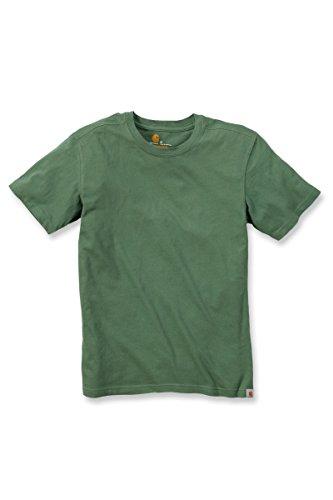 Carhartt Big & Tall Maddock kurzärmeliges T-Shirt Ohne Taschen für Herren, White, X-Small