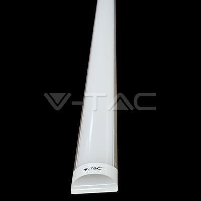 LED 40 Watt Decken Leuchte Wohnraum Leiste Lichtschiene Strahler EEK A+ Lampe V-TAC 4994 - Eine Leuchte Decken-strahler