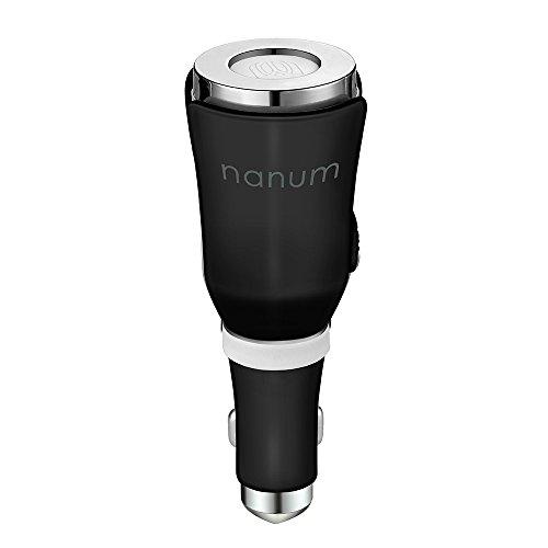 Preisvergleich Produktbild Decdeal Auto Aroma Diffuser Auto Lufterfrischer Parfüm Diffusor Tulpe-Form mit USB Port und Filzscheiben