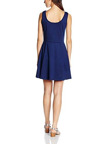 Les Sophistiquees Abito Con Spalline, Robe Femme bleu (Tampone)