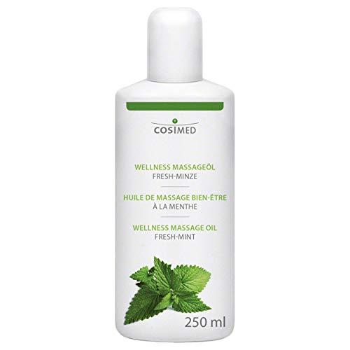 cosiMed Massageöl Fresh-Minze, Massage Öl, Wellness, Therapie, 250 ml -