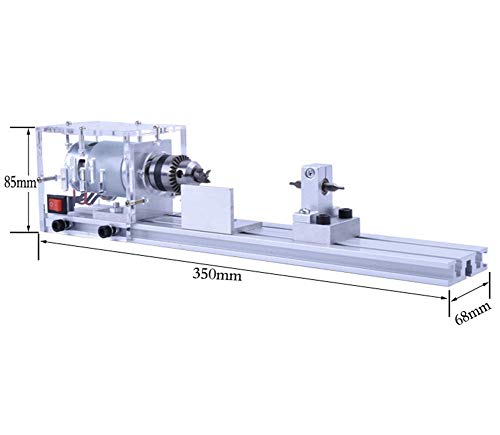 ADDG Holzbearbeitung Mini Drehmaschine DIY Drehmaschine Set Mini Perlendrehmaschine