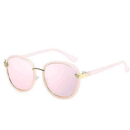 XHCP Frauen polarisierte Klassische Flieger-Sonnenbrille, erstklassige Sport-Acetat-Brillen-Rahmen-klare Linse polarisierte Sonnenbrille (Farbe: Rosa, Größe: zufällige Größe)