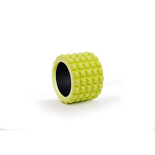 SL Mini Faszienrolle I Massage-Rolle für den Rücken I Fitness-Rolle für effektives Faszien-Training nach dem Sport I Faszienmassage (Grün - Höherer Härtegrad)