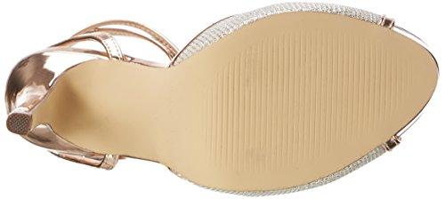Paco Mena Argelia, Chaussures Compensées Femme Gold (Stone)