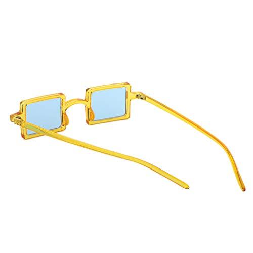 F Fityle klar winddich Sonnenbrille Sonnenbrillen Nerdbrille Eyewear verspiegelt gegen Licht (Klar Verspiegelten Sonnenbrillen)