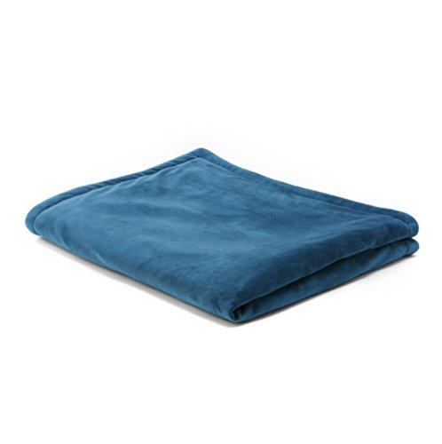 meylee Elektrische Heizkissen Decke mit Prime Style Controller -100% weiche Premium Fleece-Decke -100W & 3 Temperatureinstellung, B - Wiederaufladbare Rücken Heizkissen