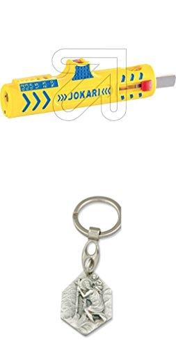 Jokari Universal-Entmantler Secura Nr.15 mit Anhänger Hlg. Christophorus