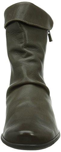 Mephisto Seddy Texas 7925 Peltro, Stivali A Manica Corta Donna Grigio (peltro)