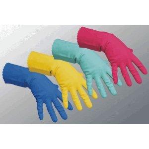 Vileda Handschuhe Multipurpose Der Feine Naturlatex gelb Größe L