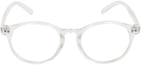 Round Spectacle Frame For Boys|Girls|Men|Women|Ladies.Transparent Frame.