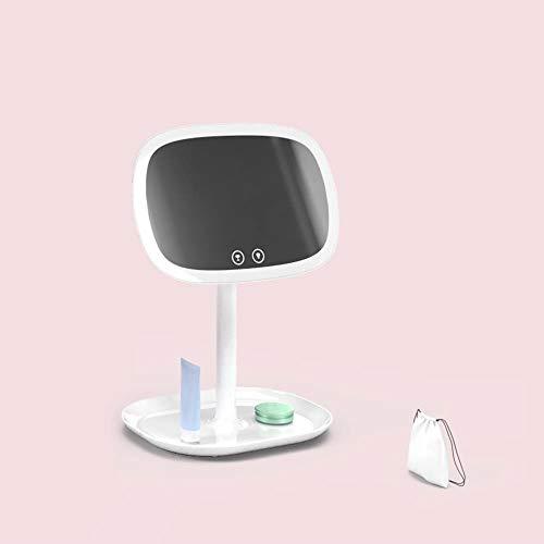 Lxc Kreative Tischplattenprinzessin LED Schminkspiegel Schminkspiegel Lampe Kosmetikspiegel Verstellbare Schönheit Mit Lichtspiegel Erstellen Sie Ihren eigenen privaten Raum (Farbe : White)